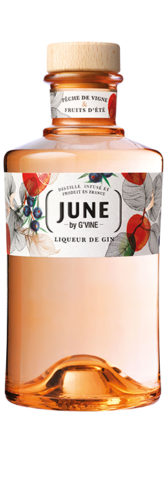 June Gin Liqueur Wild Peach Icon Spirits
