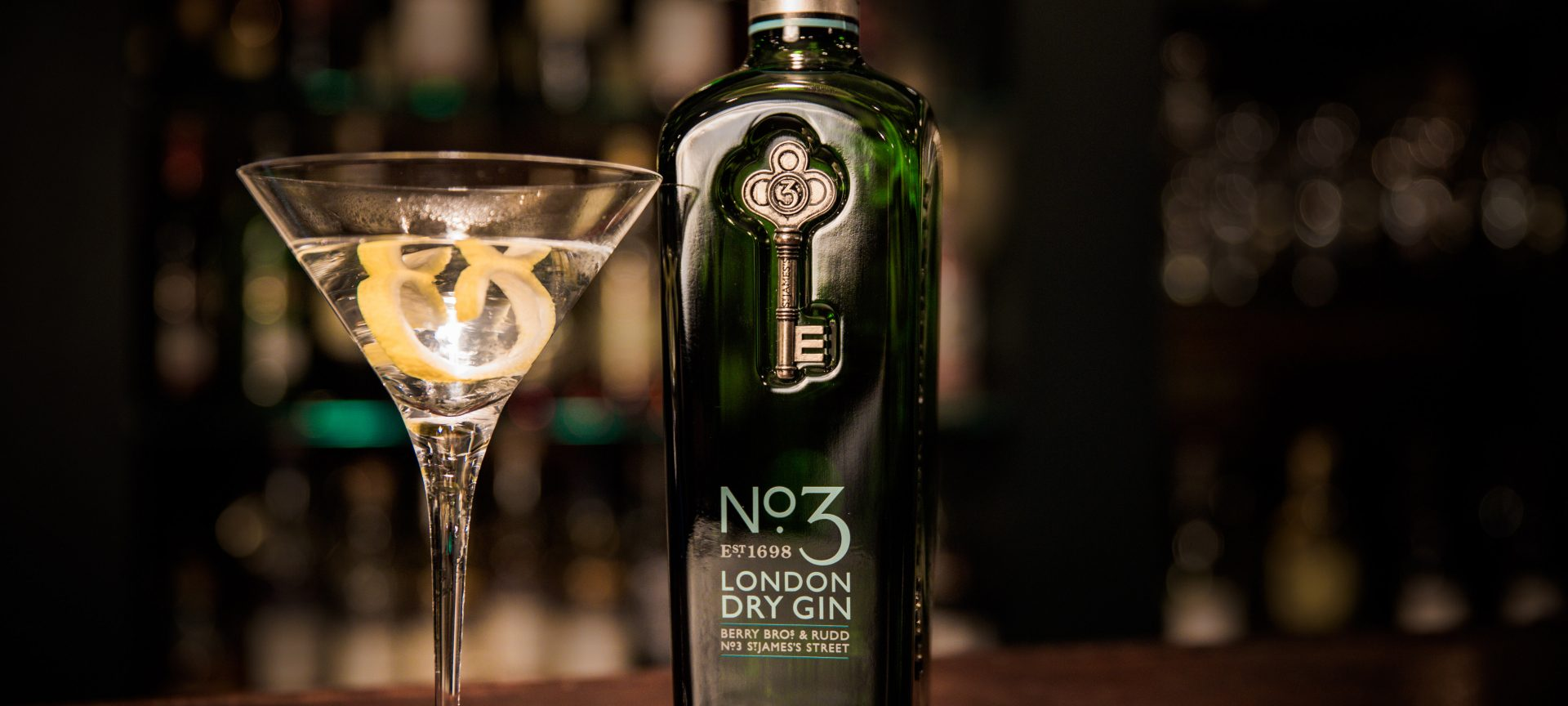 No.3 London Dry Gin best distilled in the world 2019
