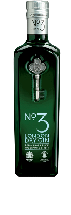 Number3 London Dry Gin Icon Spirits